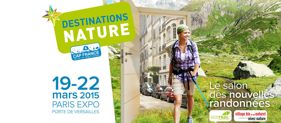 Promotion au salon Destinations Nature